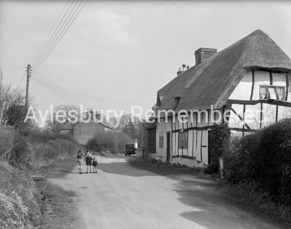School Lane, Weston Turville, Apr 10th 1947