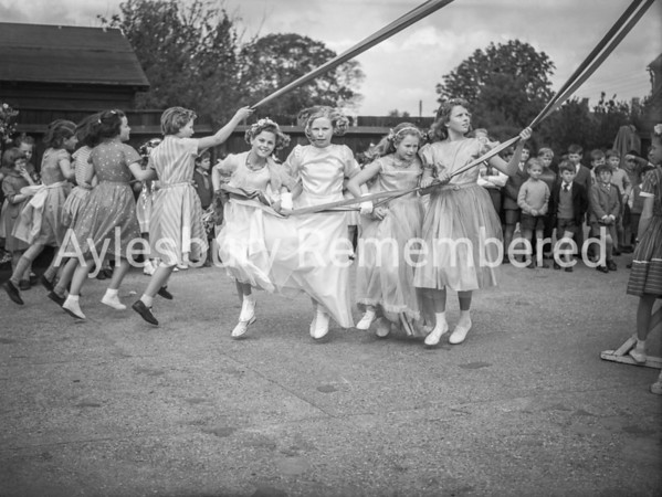 May Day at Weston Turville, May 1st 1959