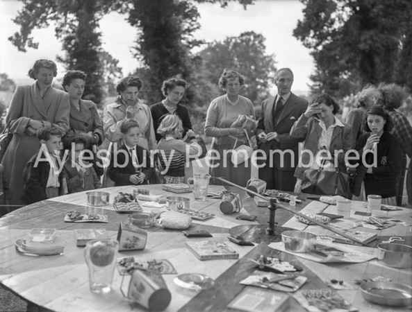 Garden fete at Whitchurch, July 11 1953