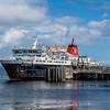 MV Caledonian Isles berthed at Brodick