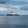 MV Caledonian Isles away from Brodick