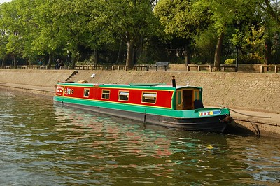 Houseboat On The Ouse