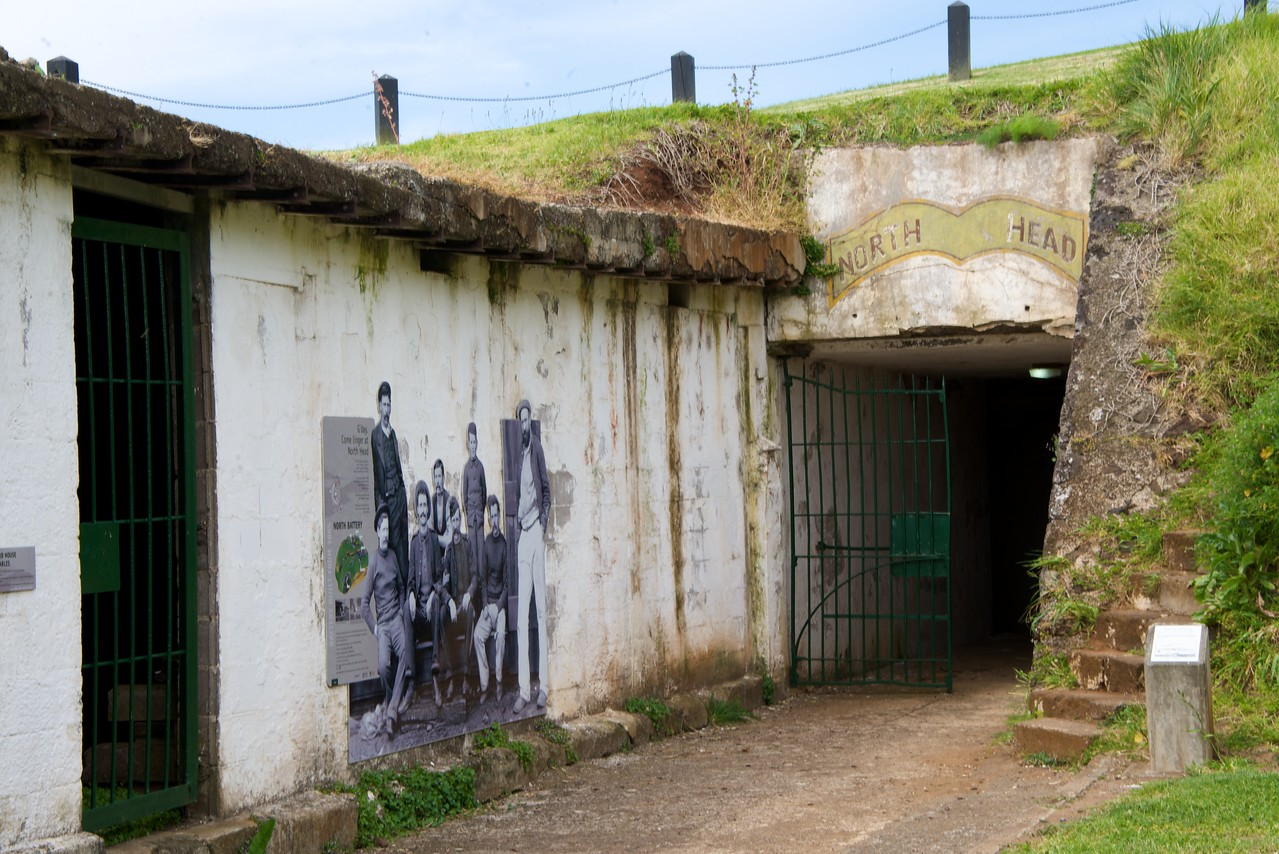 Entrance To Tunnels