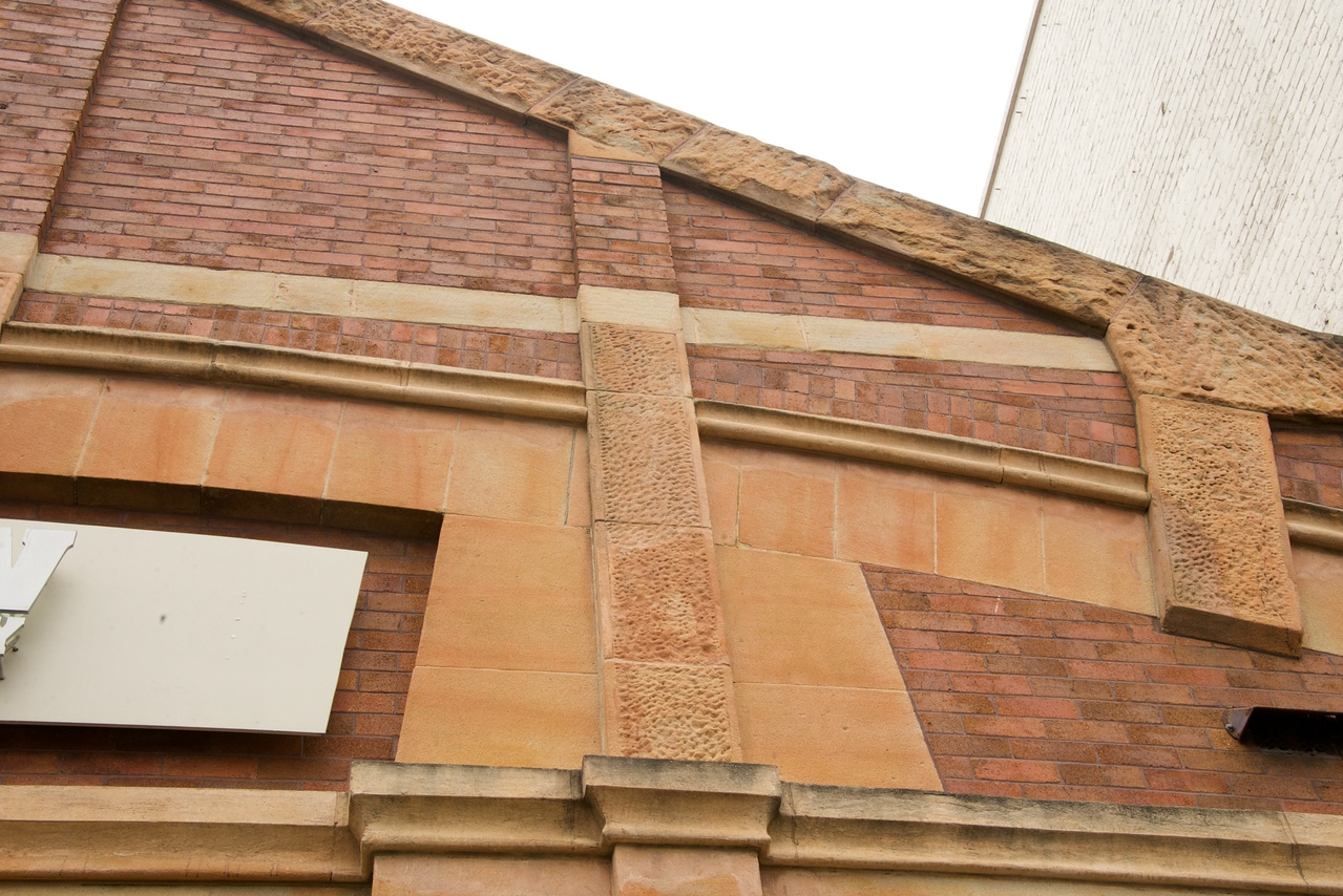 Example of Sandstone Erosion on Building