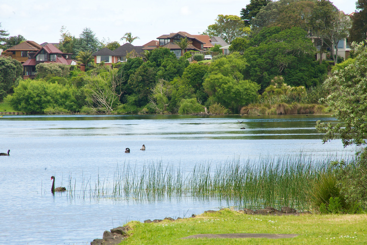 "Lake Pupuke is Volcano Cone-Fresh Rain Water Only-Used to Drain Down Lake Rd  To The Sea-Now A ""No Motor"" Recreational Lake for Swimming and Sailing"