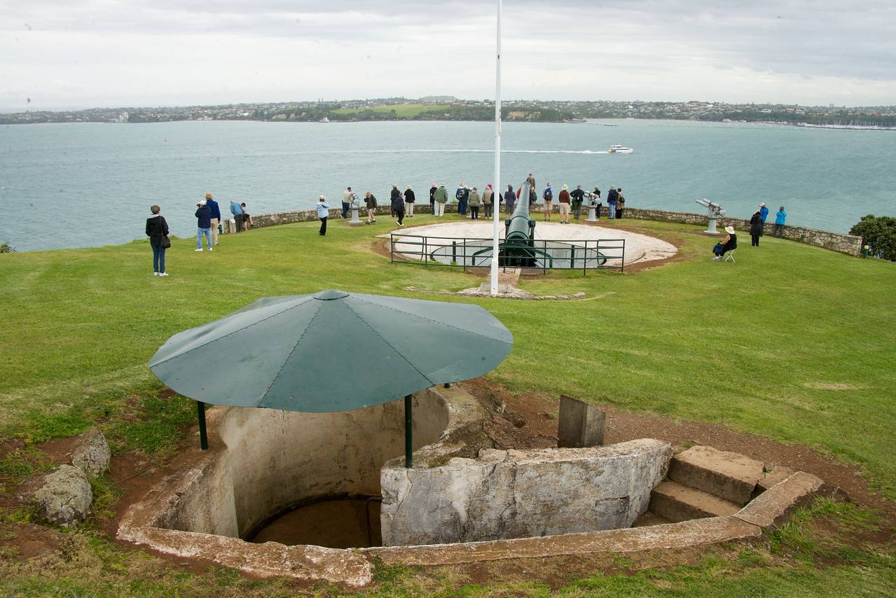 Observation Post For Disappearing Gun
