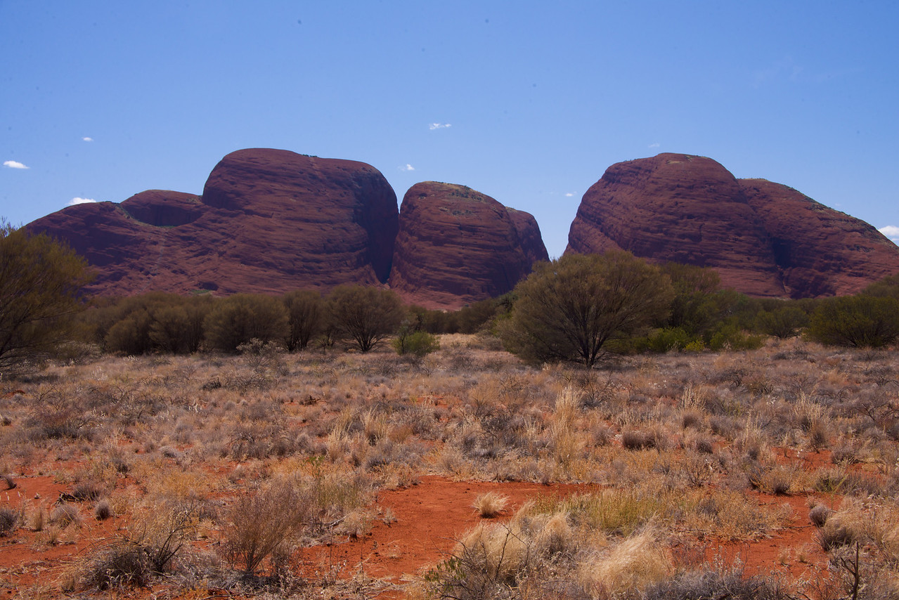 Main Four Kata Tjuta Boulders  The Olgas