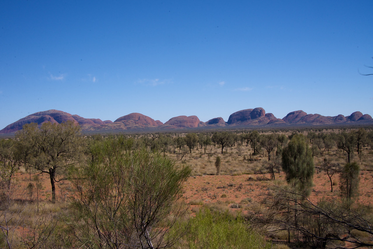 "Entire Kata Tjuta Formation-Kata Tjuta, Meaning ""Many Heads"""