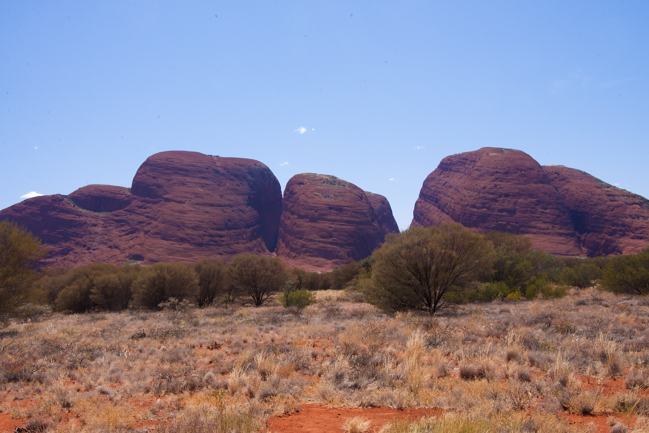 "The ""Olgas"", The Four Main Boulders of The"