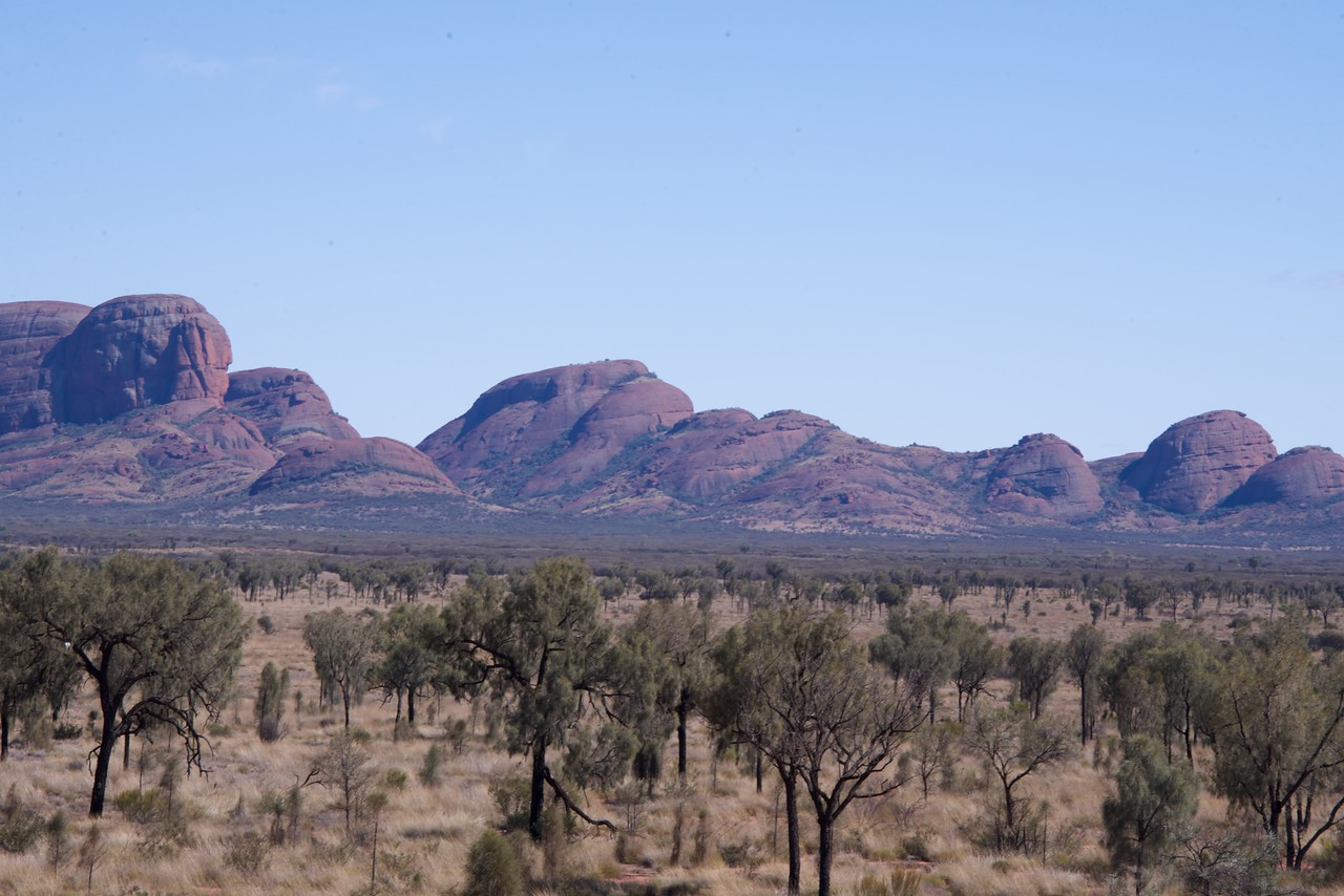Physical and Climatic Processes Have Been Forming Kata Tjuta For Hundreds of Millions of Years
