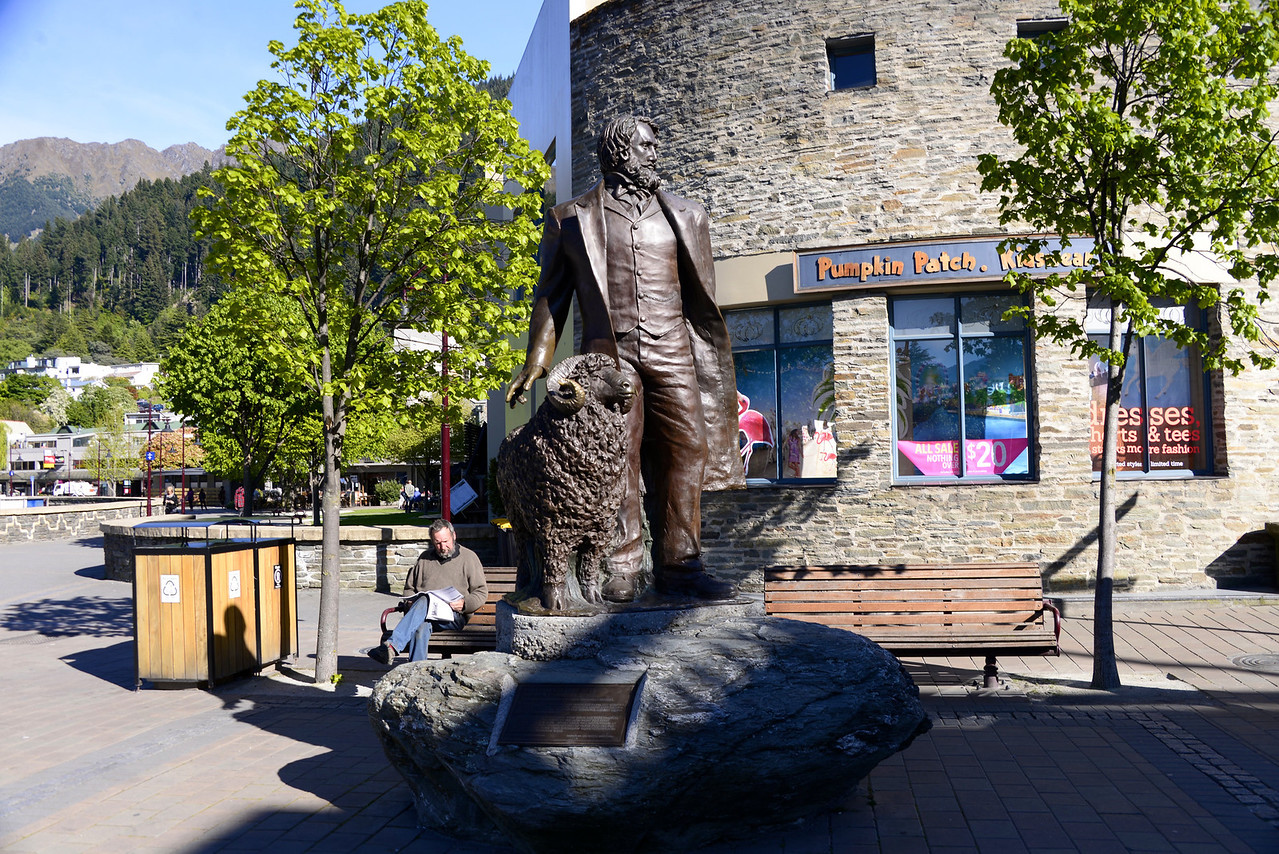 William Gilbert Rees-Explorer, Runholder and First European Settler-Founder of Queenstown (1861)