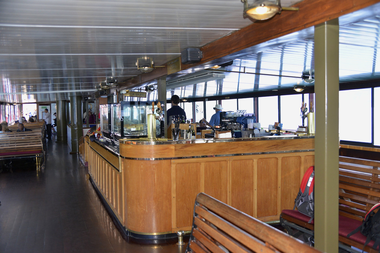 Interior of The TSS Earnslaw