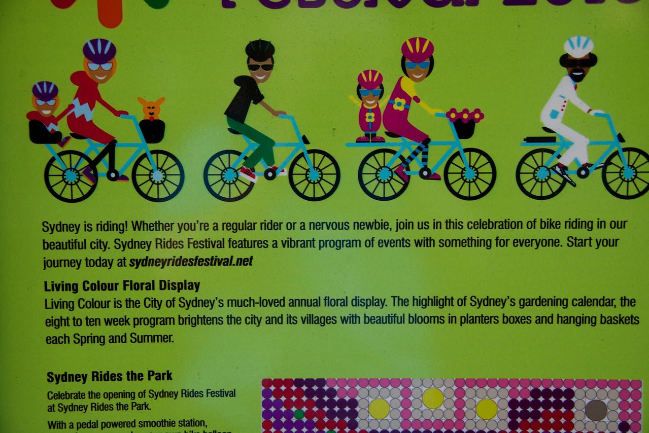 Explanation of Sydney Rides Festival