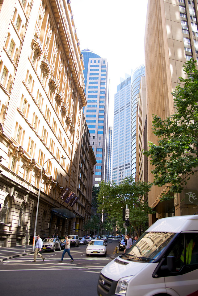Sydney is A Very Modern, Clean City
