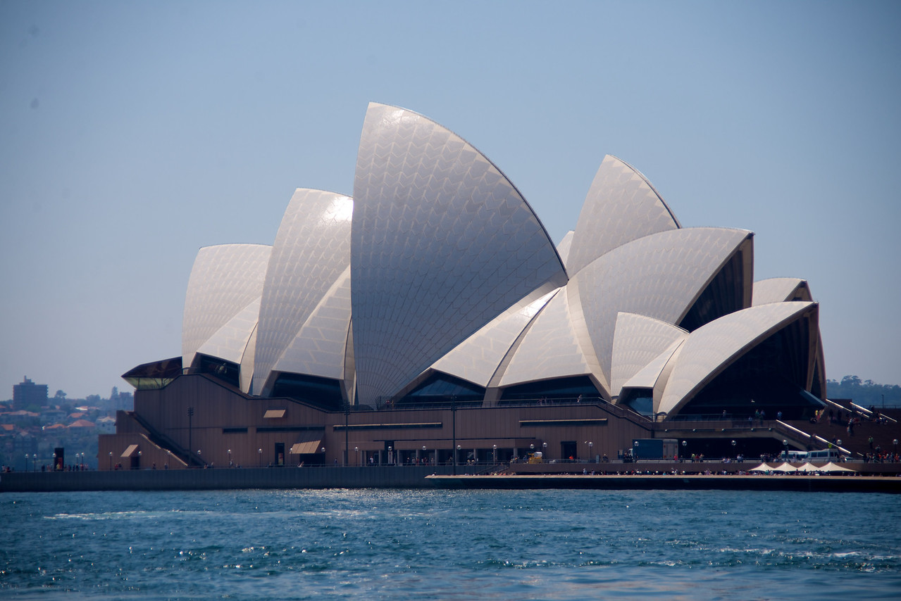 First Full View of Sydney Opera House