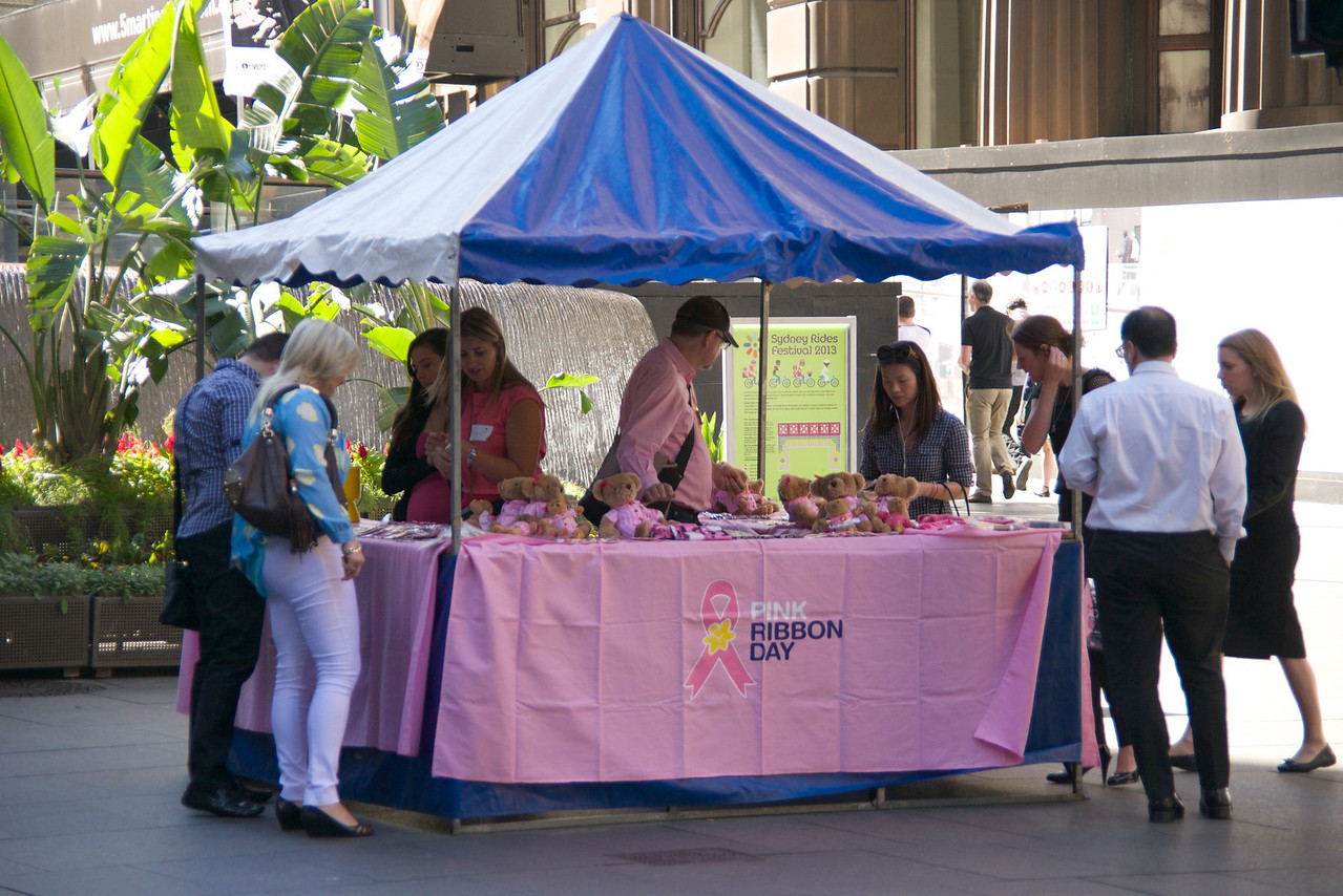 October Is Breast Cancer Awareness Even In Australia