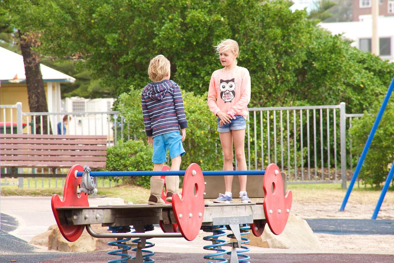 Playground at Bondi Beach