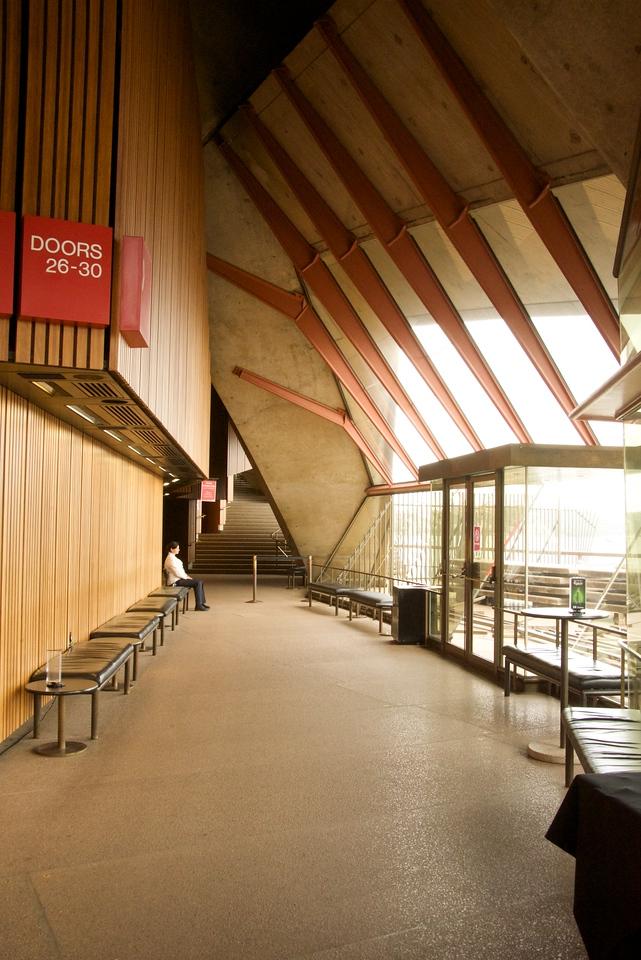Opera House Corridor to Joan Sutherland Theatre