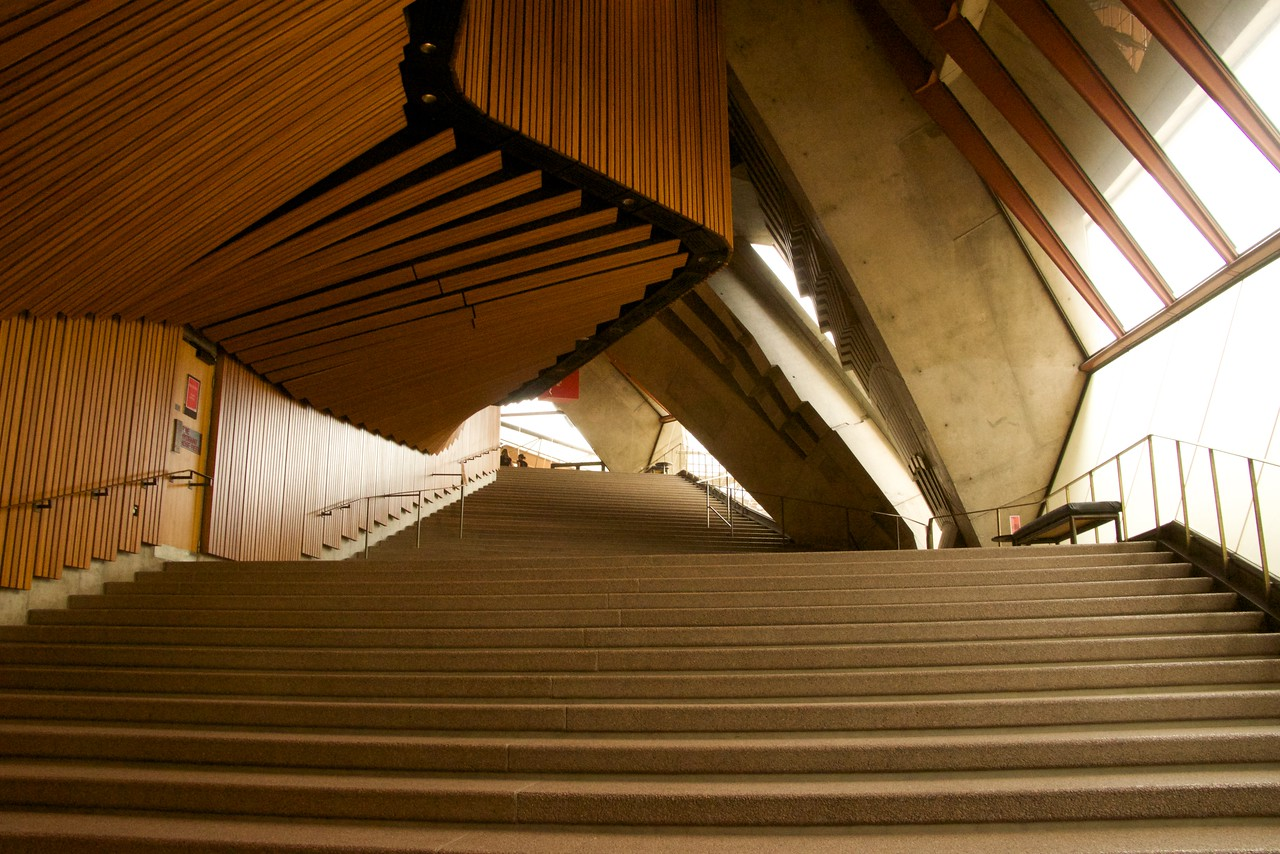Interior Stairs in The Opera House To The Upper Levels