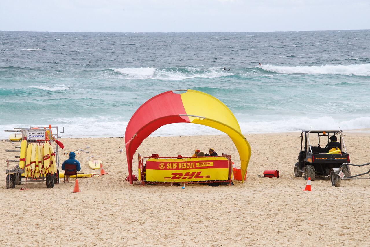 Bondi Beach Life Guard Station or Australian Surf Rescue