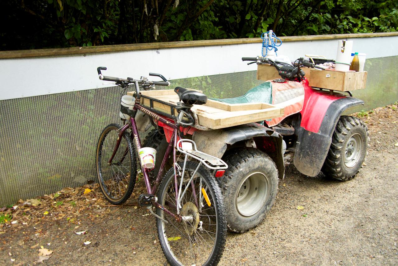 Vehicles Used To Service Zealandia