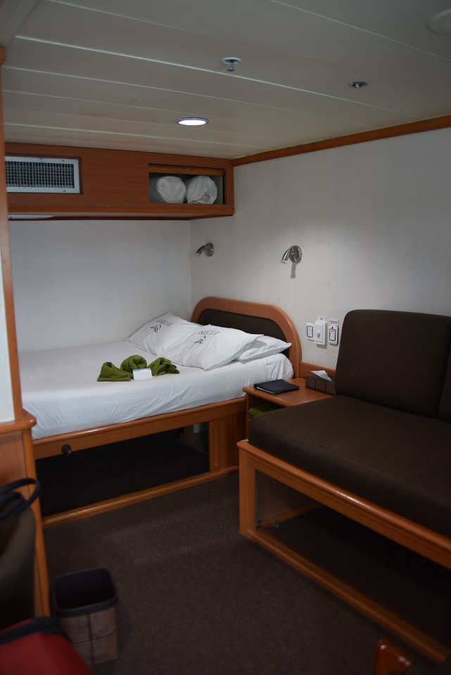 Cabin on Isabella II.