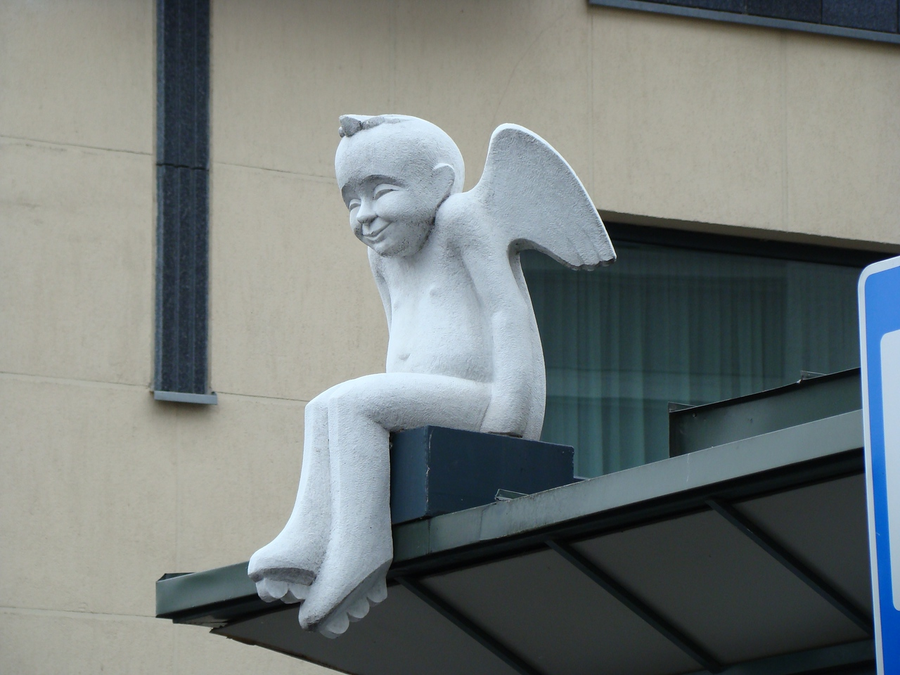 Figure above Bus Stop