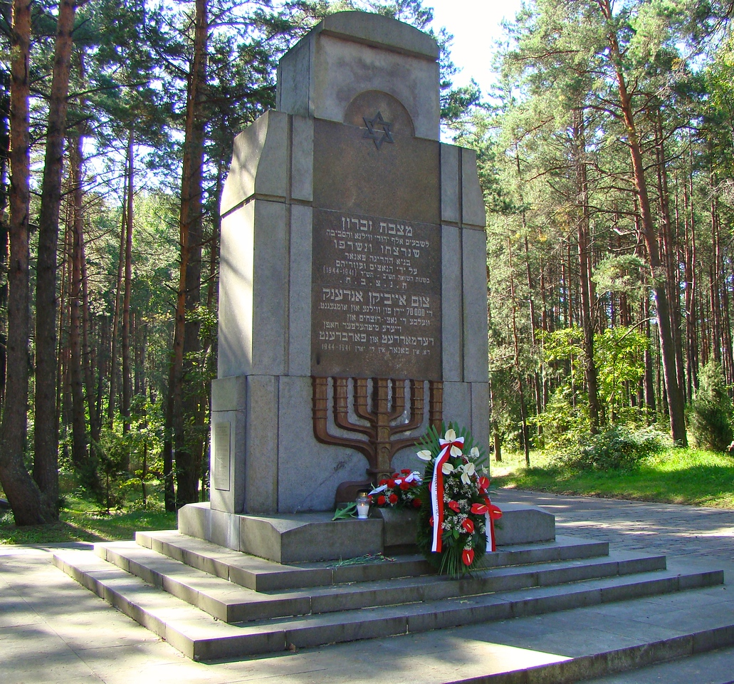 Memorial for Lithuanian Jews