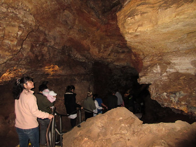 Hard to take good photos in the cave without a tripod, and such are not permitted on this tour.