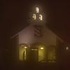Chapel in Night Fog
