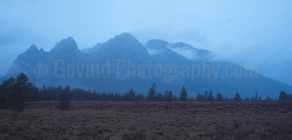 Early Morning Tetons