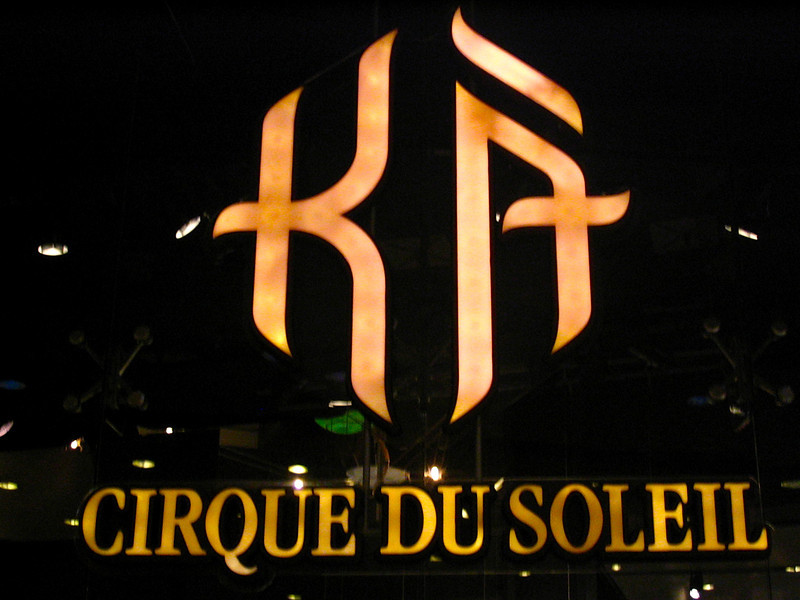 "Speaking of great Cirque shows... ""Ka"" was memorizing!  The stage was pretty amazing!!"