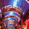 "Before we hit ""The Strip"" we stayed in Downtown Las Vegas for one night!  This is a fun area of Vegas too... here's a glimpse of the  Freemont Street ""Experience""... pretty cool!"