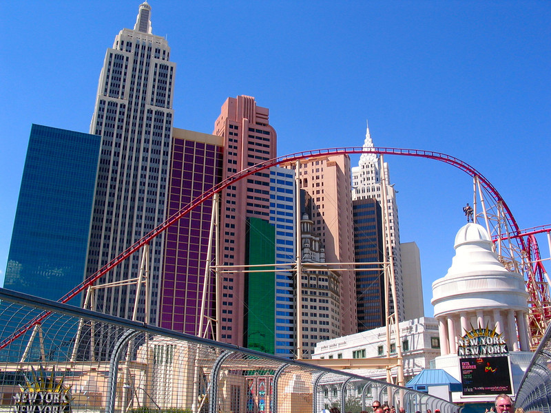 New York, New York in Las Vegas... isn't there something confusing about that? :-)