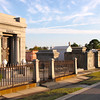 We took the street cars up to New Orleans' unique cemeteries where they have mostly above ground crypts... something we certainly don't see back home.