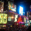 """One of our favorite things we did was when we took the """"Night Loop"""" on the hop on/off bus... there's some views of memorizing """"Times Square"""" in New York City that we saw during our tour."""