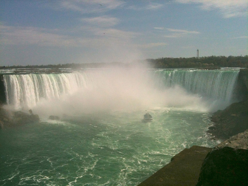 "There's the highlight when at Niagara Falls... seeing the ""Horseshoe Falls"" on the Canadian side!"