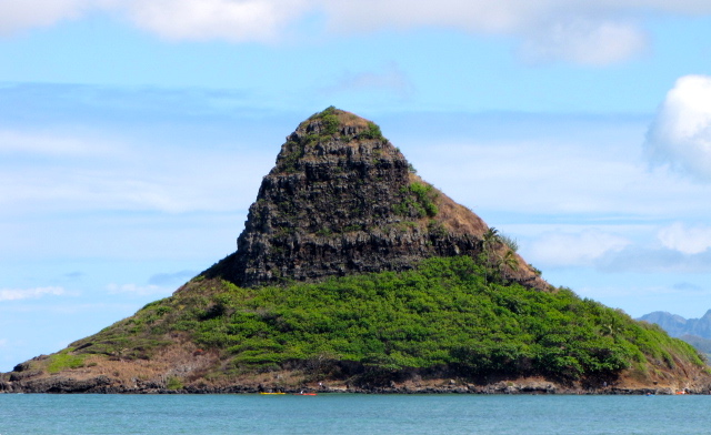 "There's Mokoli'i Island... better know as ""Chinaman's Hat"". :-)"