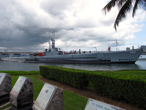 There's the USS Bowfin submarine... another site you can visit while at Pearl Harbor