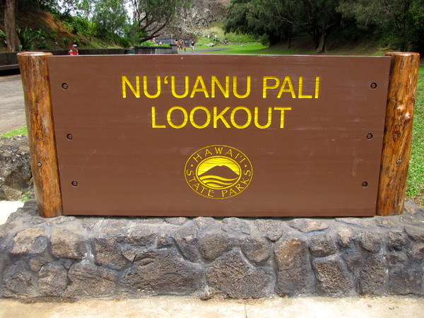 """The """"Pali"""" lookout on Oahu is famous for it's amazing views it offers..."""