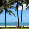 Here's another view from Waikiki Beach... the colors are amazing everywhere you look!