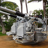 All throughout the site you'll see samples of the different ship's pieces such as this huge gun