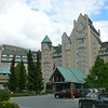 "Here's a glimpse of one of the most spectacular Hotels in the World, right at the base of Blackcomb Mountain... the famous ""Fairmont Chateau Whistler Resort""."