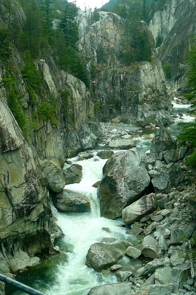 "We saw some absolutely Beautiful scenes as we passed through ""Cheakamus Canyon""!"