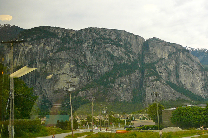 "There's Squamish's popular climbing Mountain... ""The Chief"". We didn't climb the face of it as we don't Rock climb but we did Hike up the back one time which was a great workout!!"