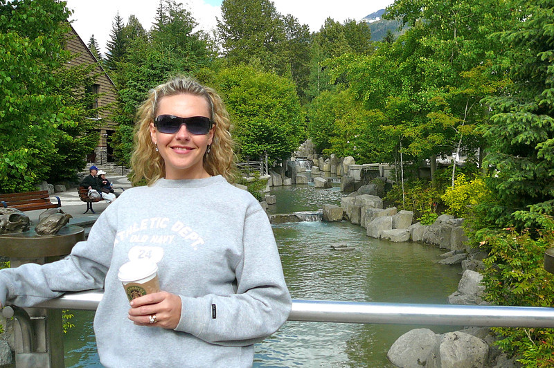 Looks like Nancy is enjoying this Beautiful June day up in Whistler! :-)