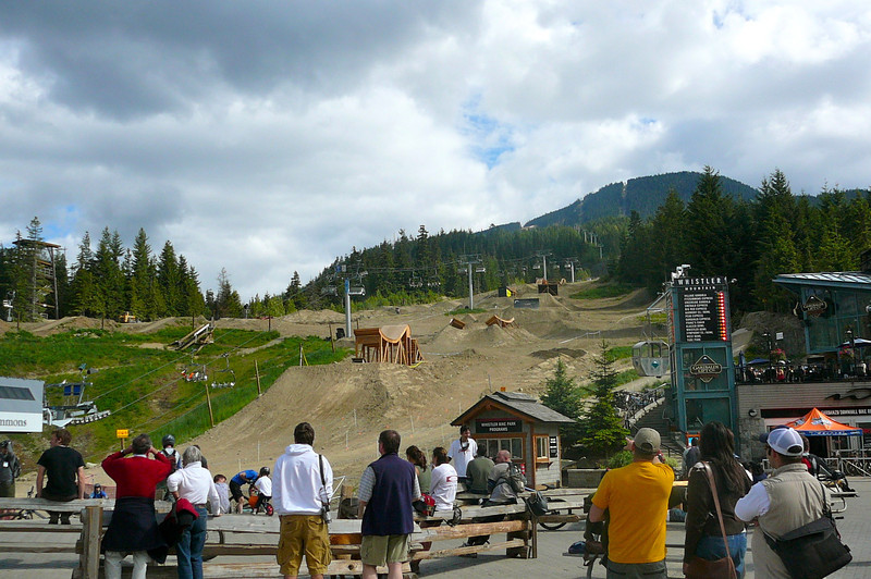 Even though Whistler is a Ski Resort it's super popular during summertime. Downhill Mountain Biking is one of the most popular summertime activities here.