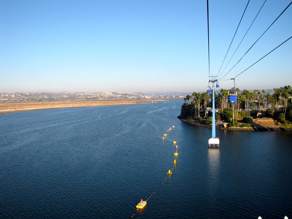 """If you want to check out some great views of Beautiful San Diego make sure to ride SeaWorld's """"SkyTower"""" ride and this one too, the """"Bayside Skyride"""". Click below to see our Video we made of our time in Seaworld: <a href=""""http://nancyandshawnpower.com/san-diego-seaworld-spooktacular/"""">http://nancyandshawnpower.com/san-diego-seaworld-spooktacular/</a>"""