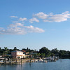 One thing Tampa, Florida has tons of is beautiful shorelines... and usually along beautiful Florida shorelines are pretty houses and boats just like in this pic! :-)