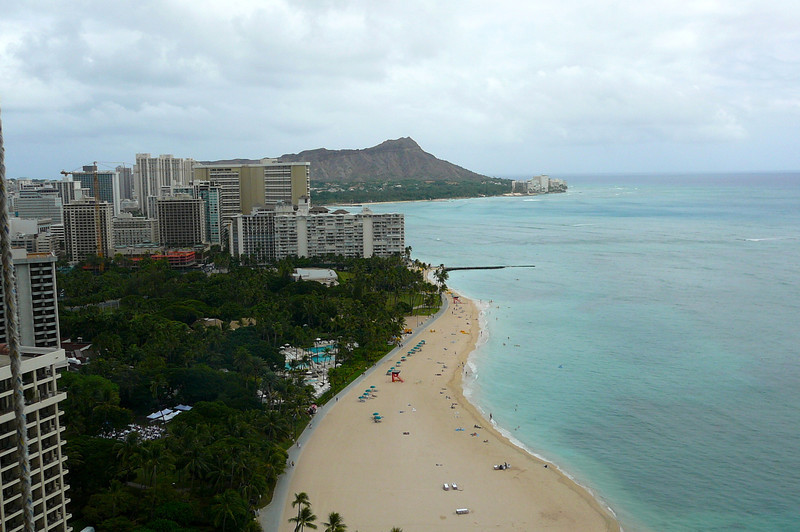 "We had a great view of Waikiki and of ""Diamond Head"" Volcano Crater from our 29th Floor room... it's definitely worth the extra $/night to go with the Oceanview room if your budget can fit it in!"